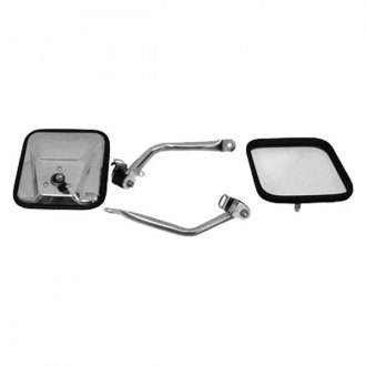 Rugged Ridge® - Mirrors (CJ Style, Stainless Steel)