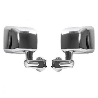 Rugged Ridge® - Chrome Mirrors (w/o LED Turn Signal)