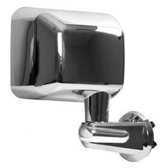 Rugged Ridge® - Passenger Side Chrome Mirror (with LED Turn Signal)