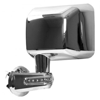 Rugged Ridge® - Driver Side Chrome Mirror (with LED Turn Signal)