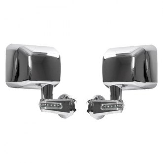 Rugged Ridge® - Chrome Mirrors (with LED Turn Signal)