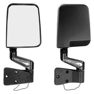 Rugged Ridge® - Door Mirror Kit LED Signal Dual Focus