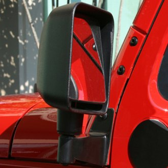 Rugged Ridge® - Driver and Passenger Side View Mirror Relocation Filler Plates
