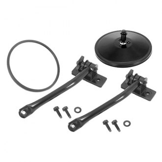 Rugged Ridge® - Black Quick Release Mirror Relocation Kit