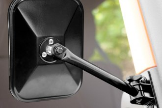 Rugged Ridge® 11025.12 - Black Quick Release Mirrors