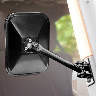 Rugged Ridge® - Black Quick Release Side Mirror