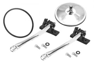 Rugged Ridge® - Quick Release Mirror Relocation Kit (1 Pair, Stainless Steel)