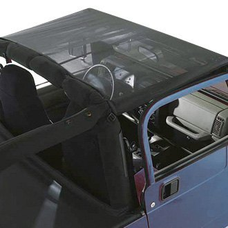 Rugged Ridge® - Black Mesh Summer Soft Top