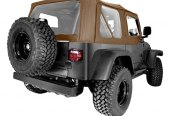Rugged Ridge® - XHD Replacement Spice Soft Top With Door Skins