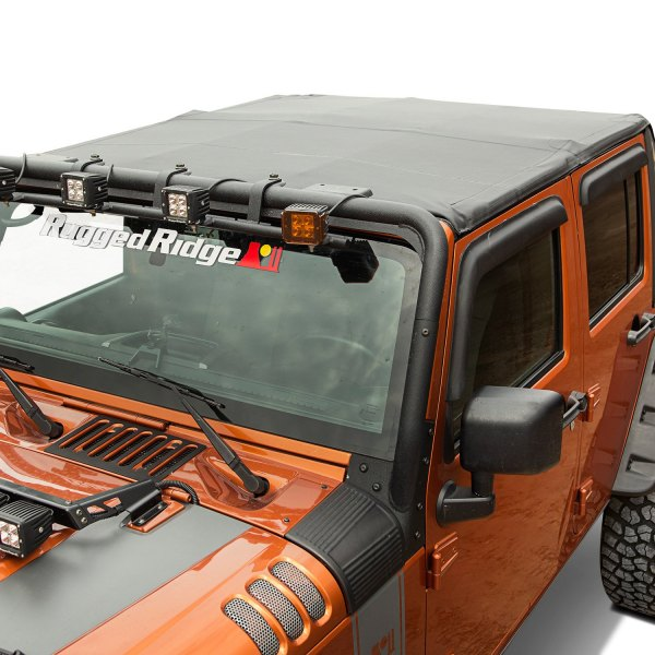 rugged ridge jeep wrangler 2008 montana black diamond bowless soft top. Black Bedroom Furniture Sets. Home Design Ideas