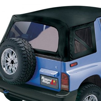 Rugged Ridge® - XHD Replacement Black Denim Soft Top