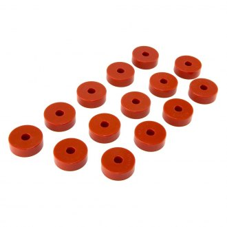 "Rugged Ridge® - 0"" Front and Rear Body Mount Bushing Kit"