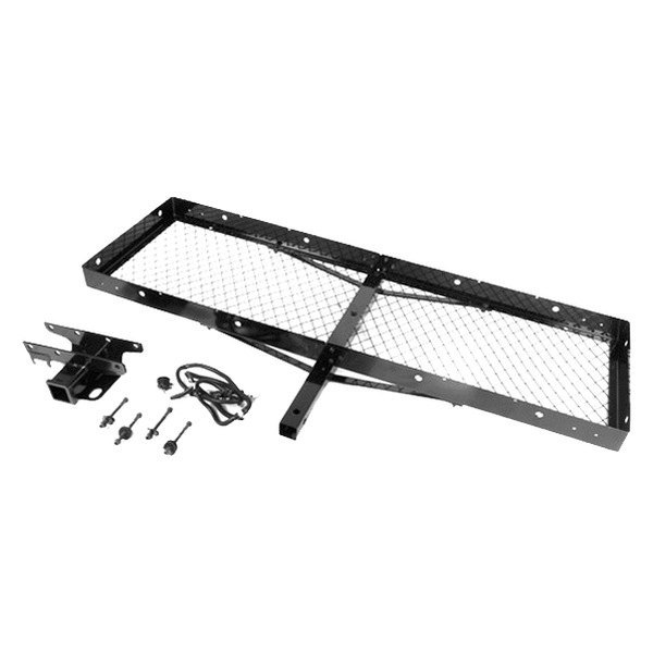 Rugged Ridge® - Trailer Hitch Receiver and Cargo Rack