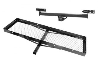 Rugged Ridge® - Trailer Hitch with Receiver With Cargo Rack