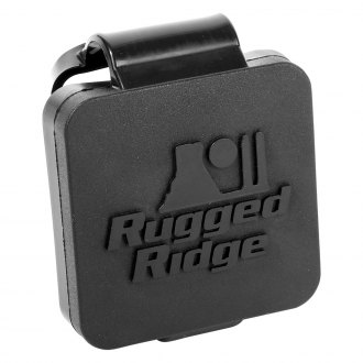 "Rugged Ridge® - Hitch Plug with Rugged Ridge Logo for 2"" Receivers"