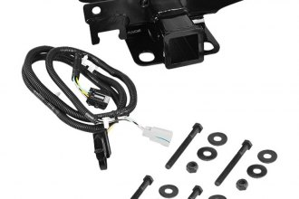 Rugged Ridge® 11580.51 - Trailer Hitch with Receiver Opening with Wiring Harness