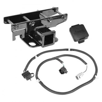 Rugged Ridge® - Class 1 Receiver Hitch Kit with Jeep Plug