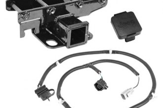 Rugged Ridge® - Receiver Hitch Kit with Jeep Plug