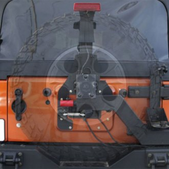 Rugged Ridge® - XHD Gen II Swing and Lock Tire Carrier