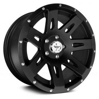 Rugged Ridge® - XHD Style Satin Black Aluminum Wheel