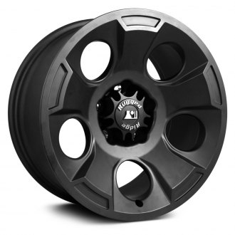 Rugged Ridge® - Drakon Style Black Satin Aluminum Wheel
