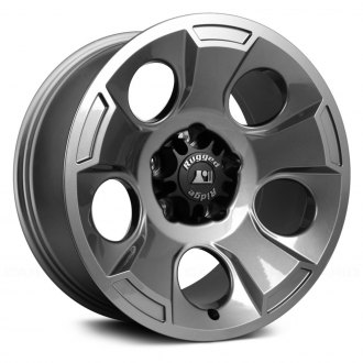 Rugged Ridge® - Drakon Style Gun Metal Aluminum Wheel