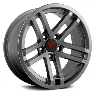 Rugged Ridge® - Jesse Spade Style Gun Metal Aluminum Wheel