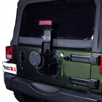 Rugged Ridge® - Black Powder Coated Tire Carrier Spacer