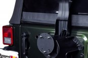 Rugged Ridge® - Tire Carrier Spacer, Textured Black
