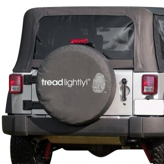 Rugged Ridge® - Tread Lightly™ Edition Spare Tire Cover