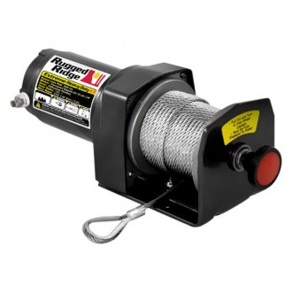 Rugged Ridge® - 2000 lbs ATV/UTV HD Winch