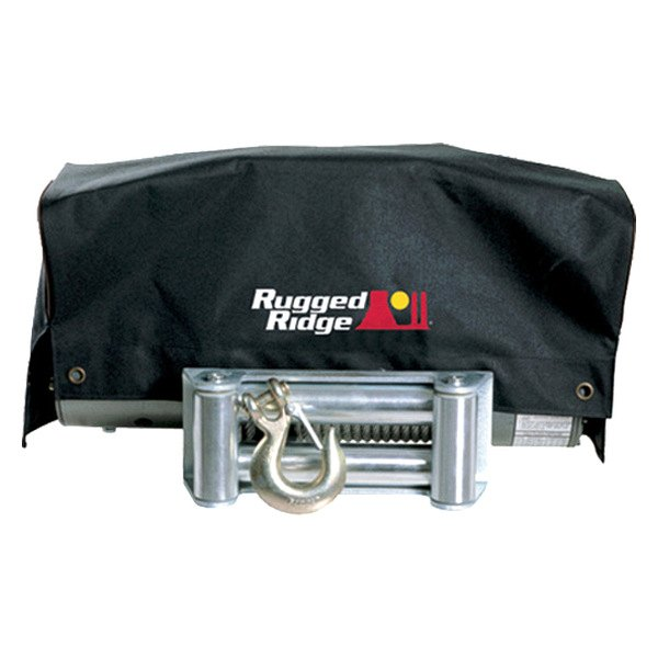 Rugged Ridge® - Winch Cover For 8500 to 10500 lbs Winches
