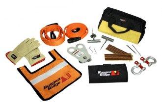 Rugged Ridge® - UTV/ATV Recovery Gear Kit