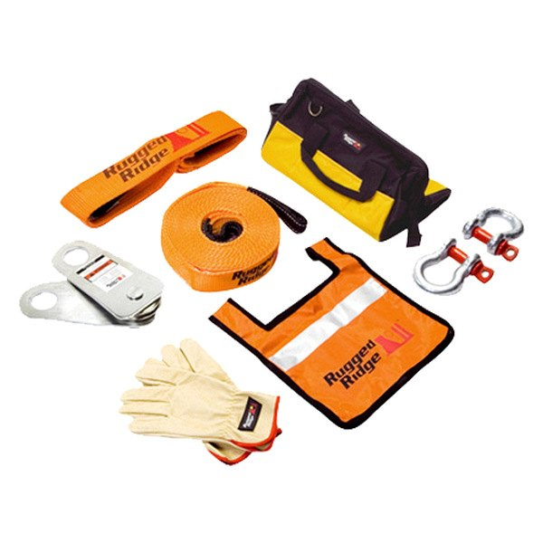 Rugged Ridge® - XHD Recovery Gear Kit (30000 lbs)
