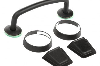 Rugged Ridge® - Black Windshield Tie Down Kit