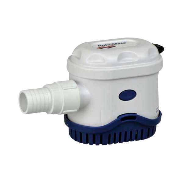 Rule Pumps® - Mate 1100 GPH Square Bilge Pump