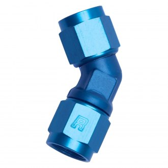 Russell® - 45 Degree Female AN to Female AN Low Profile Adapter Fitting