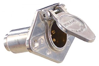 RV Designer® - 6-Round Trailer Connector Socket