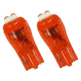 RV Lighting® - Eco-LED™ WLED Wedge Red Marker Bulbs