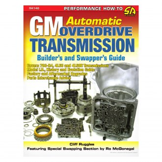 S-A Design® - GM Automatic Overdrive Transmission Builder's and Swapper's Guide