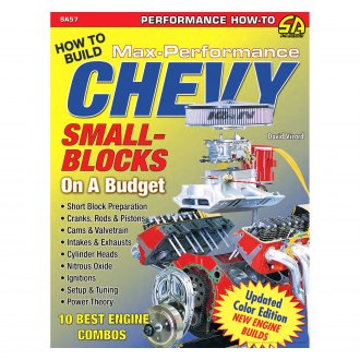 S-A Books® - David Vizard's How to Build Max Performance Chevy Small Blocks on a Budget