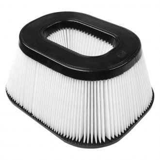 S&B® - Dry Disposable Banks Replacement Round White Air Filter