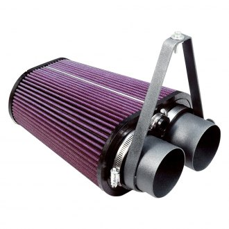 S&B® - Plastic Black Cold Air Intake System with Cleanable Cotton Filter