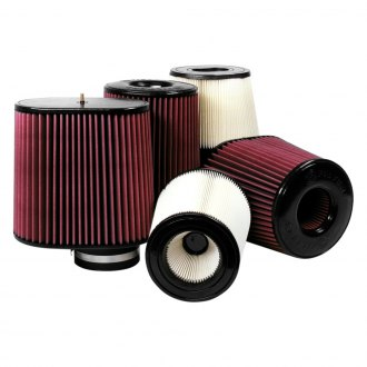 S&B® - Dry Disposable K&N Replacement Round White Air Filter