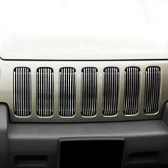 SAA® - 7-Pc Chrome Main Billet Grille