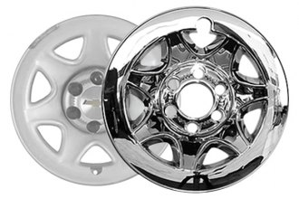 "SAA® HUB54181 - 17"" Chrome Wheel Skins"