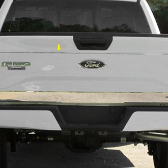 saa polished tailgate trim - 2015 Ford F 150 King Ranch Tailgate