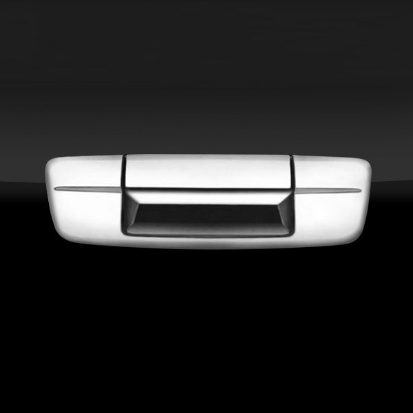 Image may not reflect your exact vehicle! SAA® - Chrome Tailgate Handle Cover
