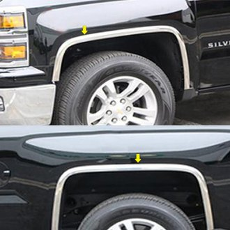 SAA® - Polished 3M Tape Fender Trim