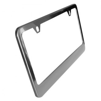 SAA® - Polished License Plate Frame